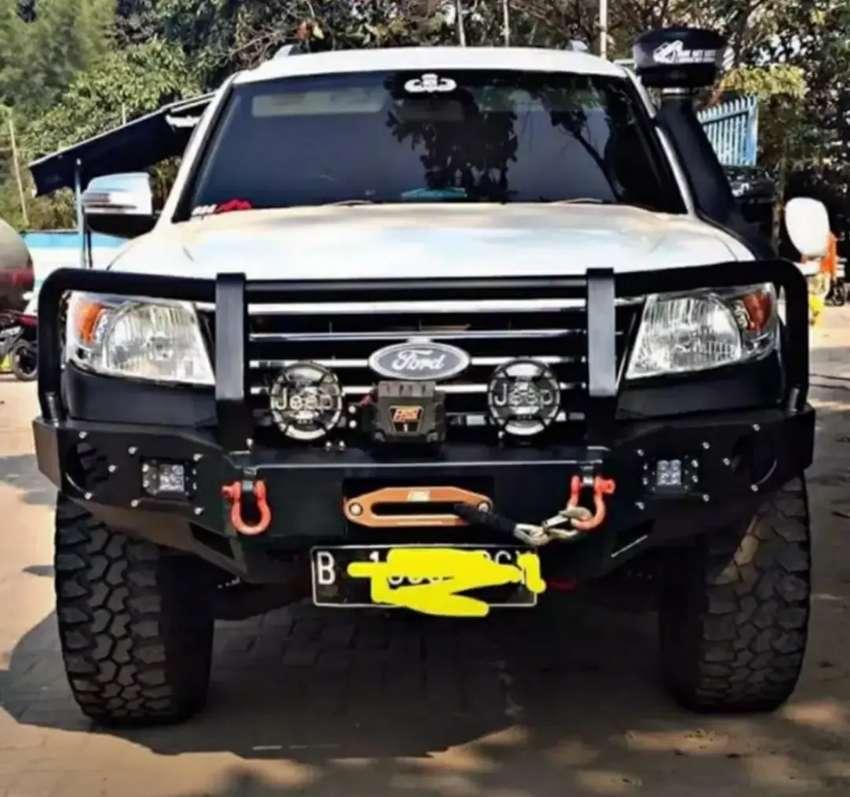 Bemper depan ford everest, ranger, navara, triton, hilux
