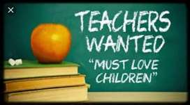 Requirement of Teachers and Assist-Teachers for after school activity