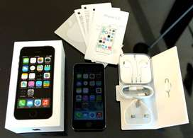 Brand new condition of Apple I phone 5s model available with bill, box