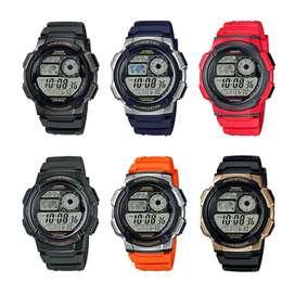 Jam Tangan Pria Casio AE-1000 W Original banyak pilihan warna termurah