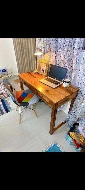 Study Table cum Console in Sheesham Wood.Brand New at Factory PrIces.