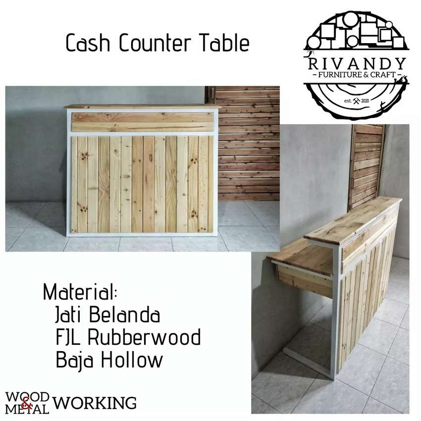 Cash Counter Table