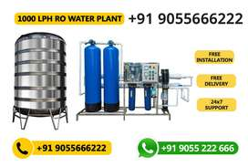 1000 LPH Water Treatment Plant (1 Year Warranty)