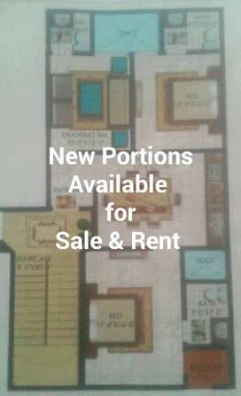 NEW PORTION SALE AND RENT
