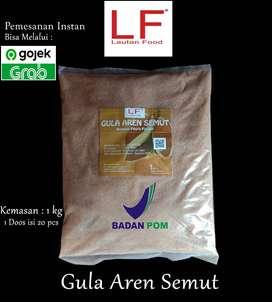 Gula Aren Bubuk / Gula Aren Semut Kemasan 1 kg By Lautan Food