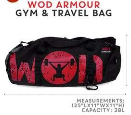 WOD ARMOUR GYM& TRAVEL BAG