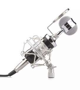 Condenser microphone BM 8000 set with extra pop filter