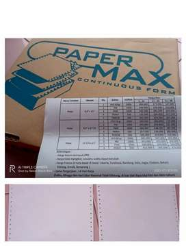 Paper Continuous Form Good Quality