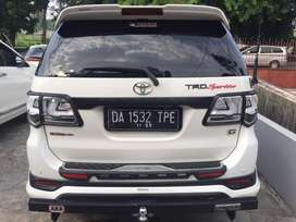 Toyota fortuner siap pakai