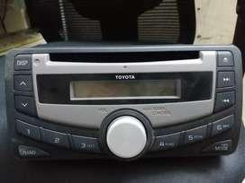 Toyota original stereo