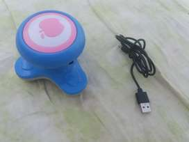 1 Apple mini electric massager with charger data cable .