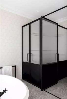 Layanan pemasangan partisi aluminium rumah atau kantor