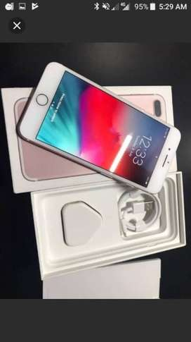 IPhone 7 plus 128GB bill box headphone charger good condition