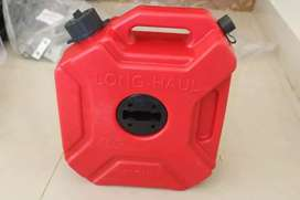 plastic imported 5 ltr jerry can for thar/jeep/gypsy/bolero/bike etc.