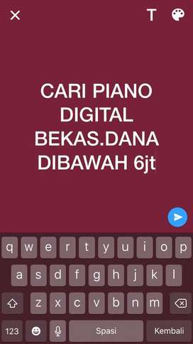 CARI PIANO DIGITAL BEKAS DANA DIBAWAH 6jt