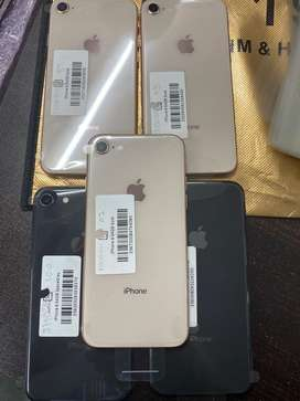 iPhone 8 64GB 18 Months Warranty all Colour