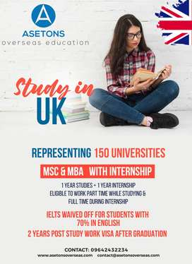 Study In UK overseas education consultants in Vijayawada