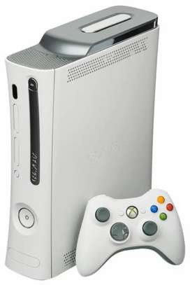 Xbox360 in good working condition with lots of game