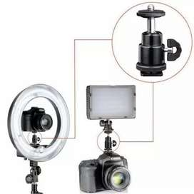 Ball head 40K &/ Holder HP. bisa pasang di tripod / Flash Kamera, dLL.