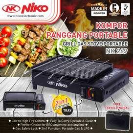 Niko NK-269 Kompor Grill Portable / Kompor Panggang Portable Niko