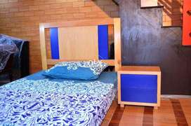 Single Bed Hard Pure Wood Lahore