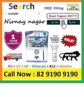 Nirnay Nagar AquaGrand RO + UV + UF + Minerals + B 12 + Vitamins  Clic