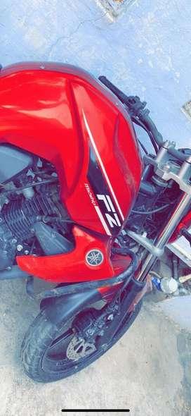 fz16 2016 red colour