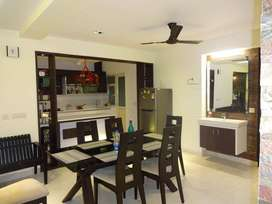 New 3bhk fully furnished purva grandbay flat Marine drive
