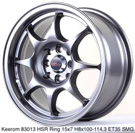 vmodif mobil dengan hsr wheel ring 15 promo harga murah