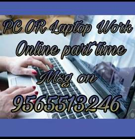 Without any stress work ad posting typing work  with no target..