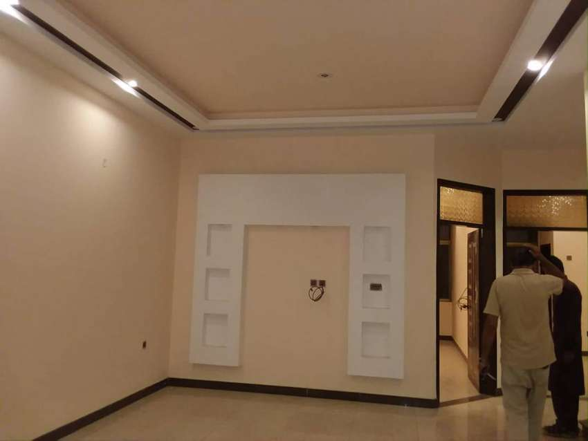 Hurry up Brand New Banglow Portion 240 Sq Yards Just Only Rent 40 th 0