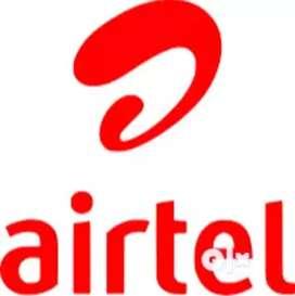 Airtel data entry/ backoffice 10th/12th pass fresher hiring