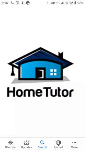 HOME TUTOR FOR CLASS 1 TO 10