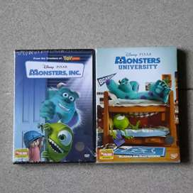 Dvd Monster Inc & Monster University.