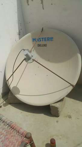 Dish Antenna Master Delux 1 No Plus LNB C and KU Band