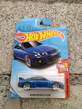 Hotwheels Nissan Skyline GTR R33