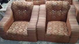 Egyptian 5 Seater Sofa Set