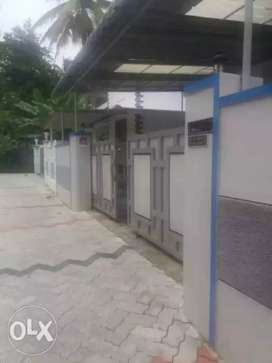 3 BHK semi furnished house of first floor at Attukal Kalady for rent