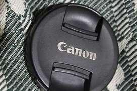 Canon d 1100 prime lens and short lens 55mm