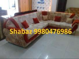 PL23 Corner sofa set with 3 years warranty Cal us