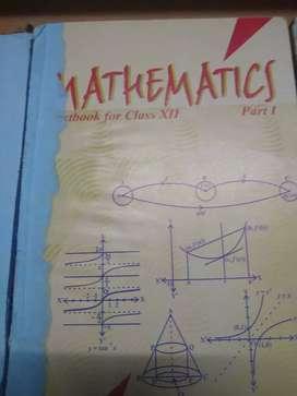 Mathematics NCERT textbook for Class XII - Part 1 & 2