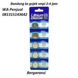 Baterai CMOS, jam, Remote dll, ukuran  CR2032 (isi 5 pcs)