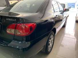 Toyota Corolla on 20% down payment