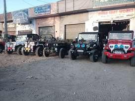 Shri Bala ji modifiers open Willys modifieds Hunter jeeps nd Gypsys