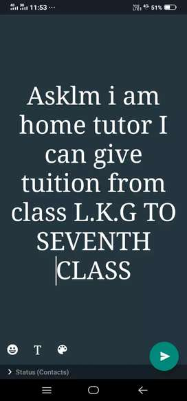 Tuitions ..