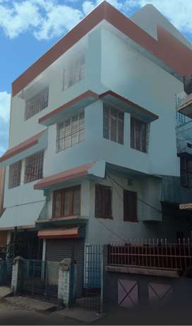 3 Stored building with garage at prime location in siliguri