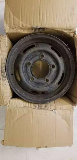 Steel Rims (2 pcs) for Sumo, Scorpio, Bolero