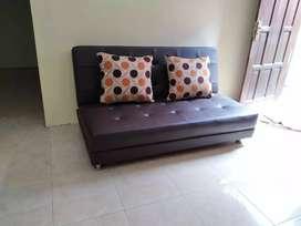 Sofa lipat minimalis, bisa custom warna