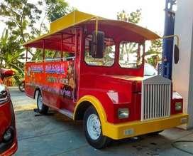 kereta mini wisata murah mainan kuda genjot GAL