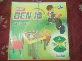 New ben 10 chair table